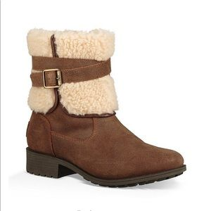 UGG Blayre Waterproof Leather Boots